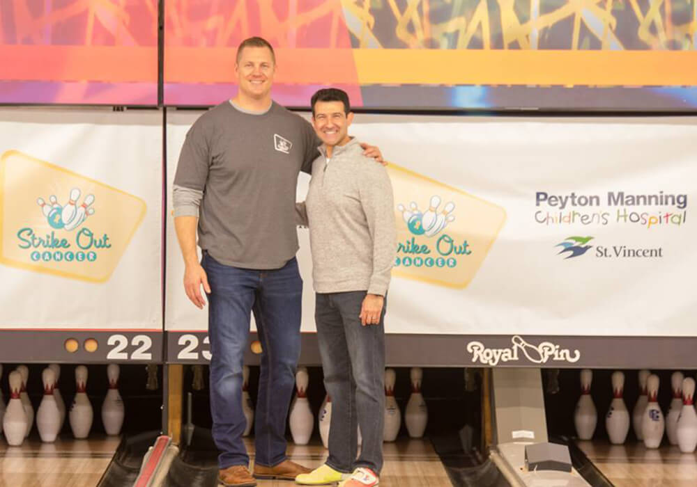 Wise Financial - Strike Out Cancer event photo